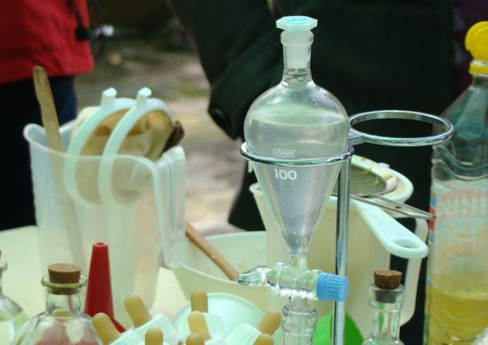 extracción de perfumes