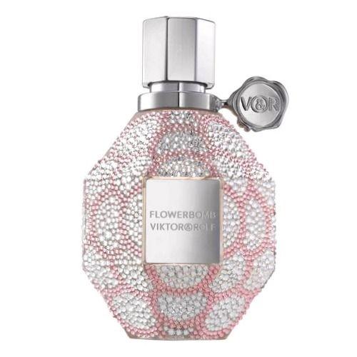 comprar Eau de parfum Flowerbomb Swarovski édition Noël 2016 Viktor & Rolf barato