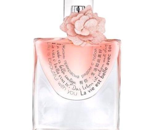 la vie est belle avec toi parfum lancome