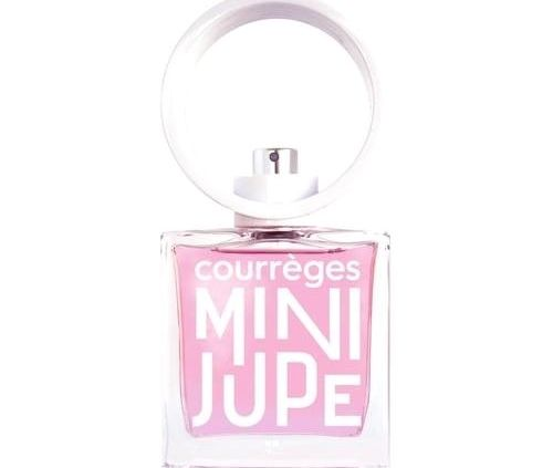 mini jupe parfum courreges